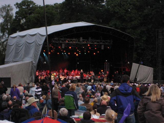 Concert at Clumber Park