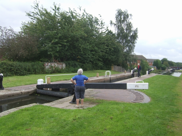 Rushall Canal - Lock No 6