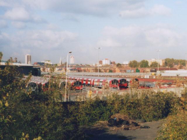 Stratford Market depot (London Underground)