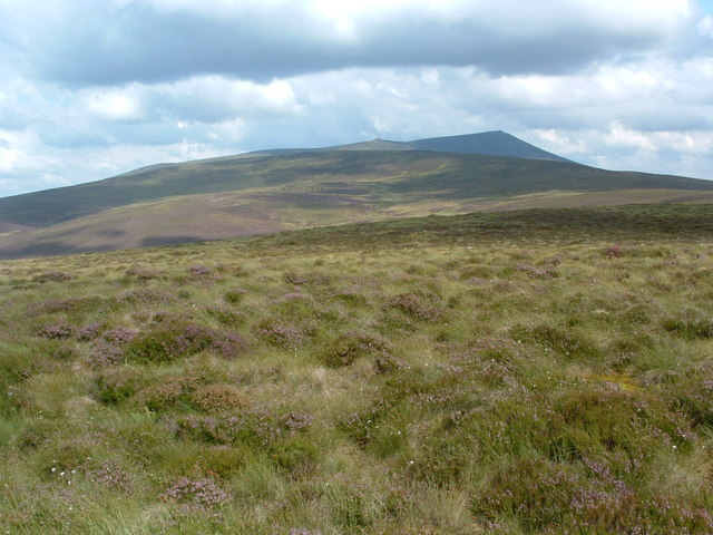 Moorland as far as the eye can see