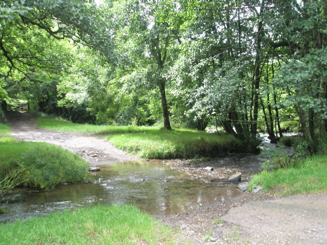 Modest ford near Tarr Steps