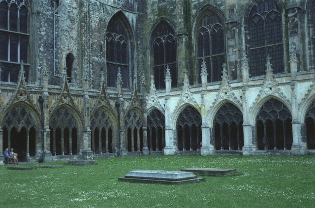 Cloisters, Canterbury Cathedral