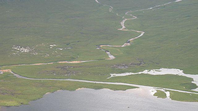 Alluvial fan, Loch Dochard