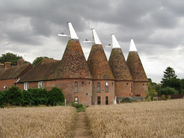 Ickham Oast House, The...
