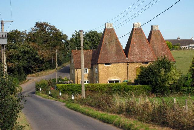 Crockshard Oast, Crockshard Hill, Wingham, Kent