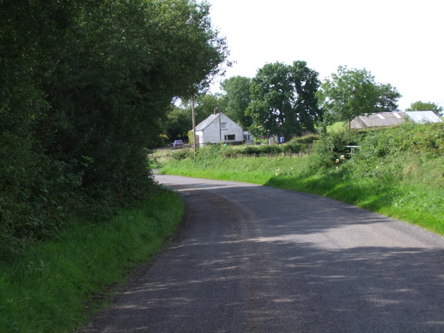 Bend in Country Road near Dundrod
