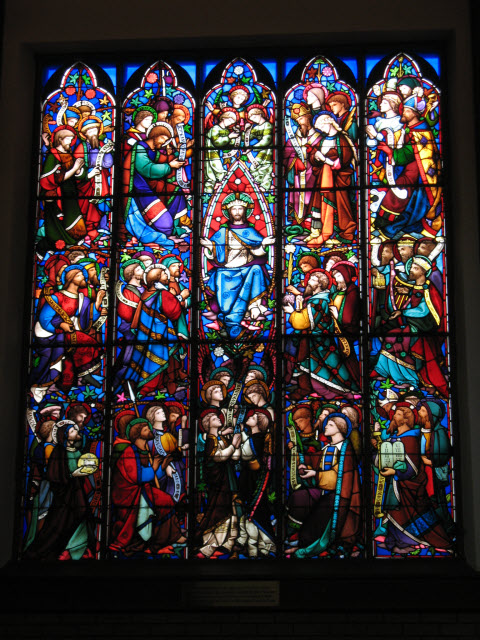All Saints window