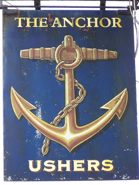 Sign for the Anchor Inn