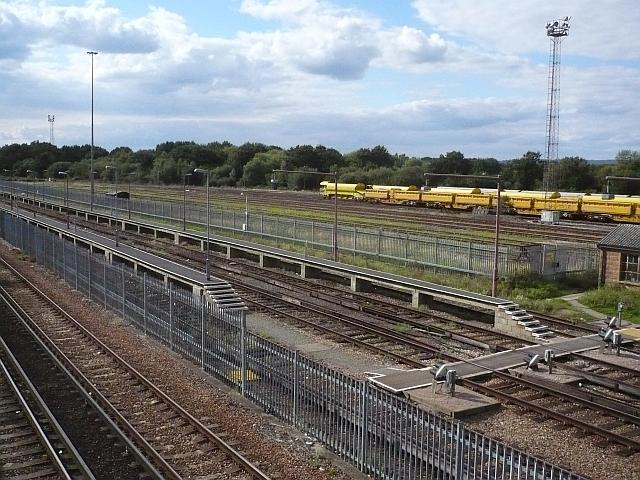 Sidings west of Tonbridge Station