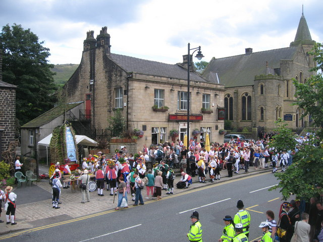 Commercial Hotel. Uppermill