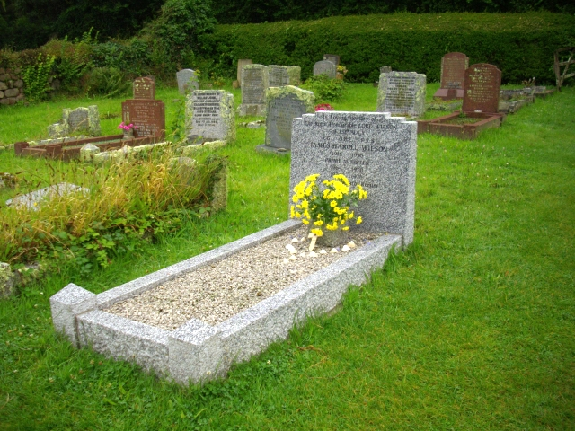 Harold Wilson's grave. St. Mary's, Old Town