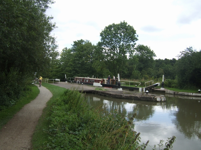 Grand Union Canal - Lock No. 34