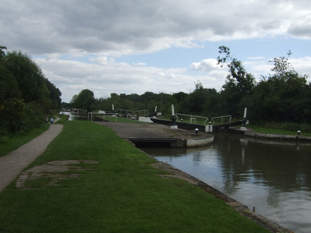 Grand Union Canal - Lock No. 35