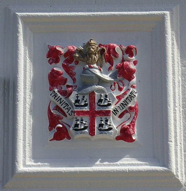 Crest on Peninnis lighthouse building