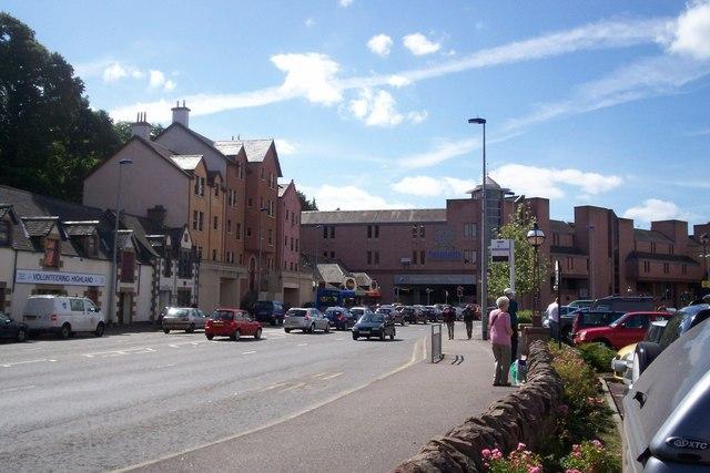 Eastgate Centre from Millburn Road