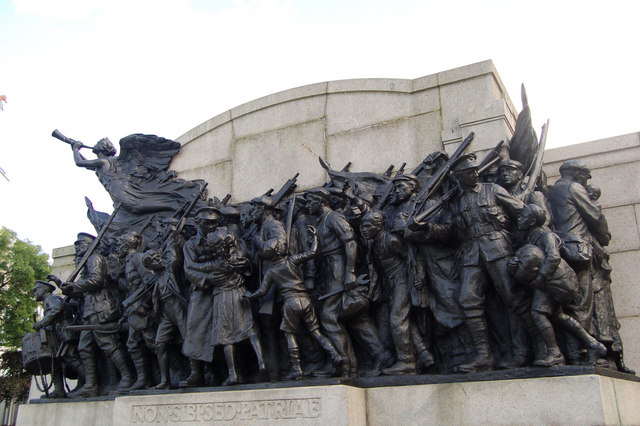 The response, 1st world war memorial, Newcastle Upon Tyne
