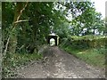 SE2306 : Tunnel under the Barnsley, Penistone, Huddersfield railway by Wendy North