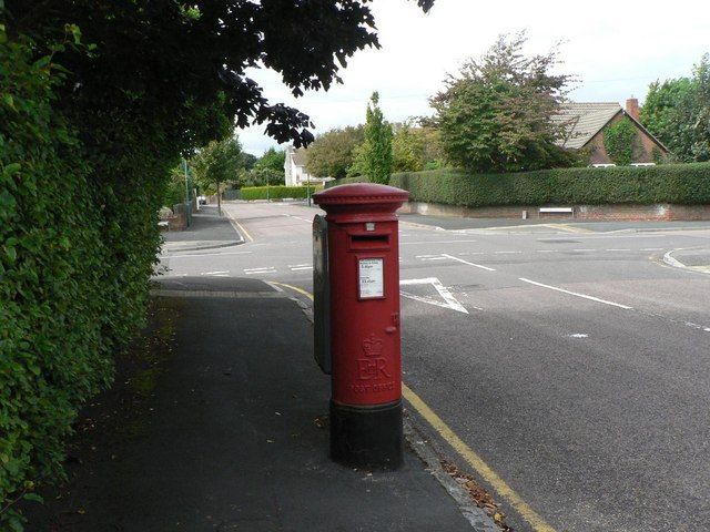 Talbot Woods: postbox &#8470; BH3 363, Carrbridge Road