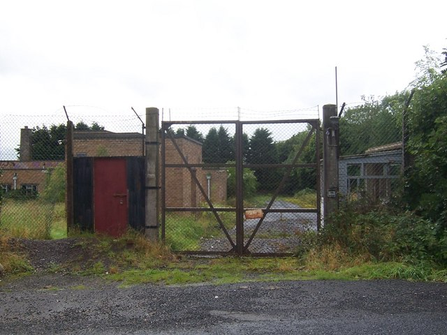 Entrance to Disused Radio Station