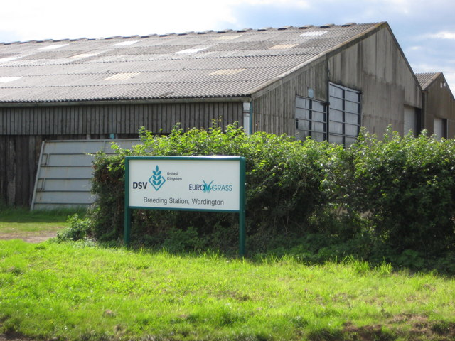 Grass breeding station nr Upper Wardington