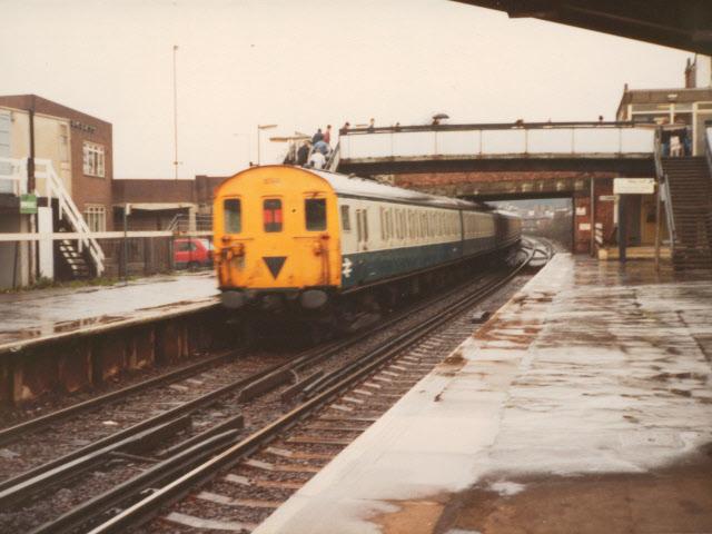 East end of Charlton station - 1984