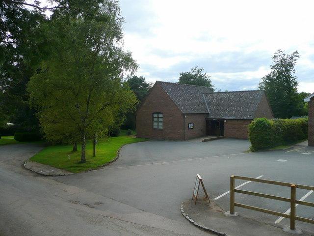Much Birch village hall