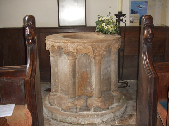 Font, St. Michael's church Edenham
