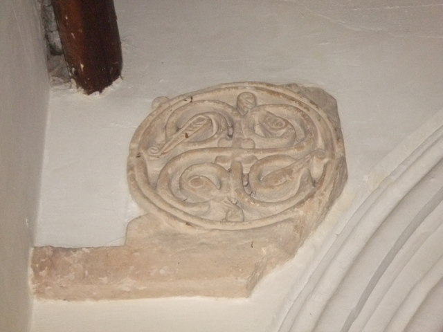 Anglo-Saxon stone carving
