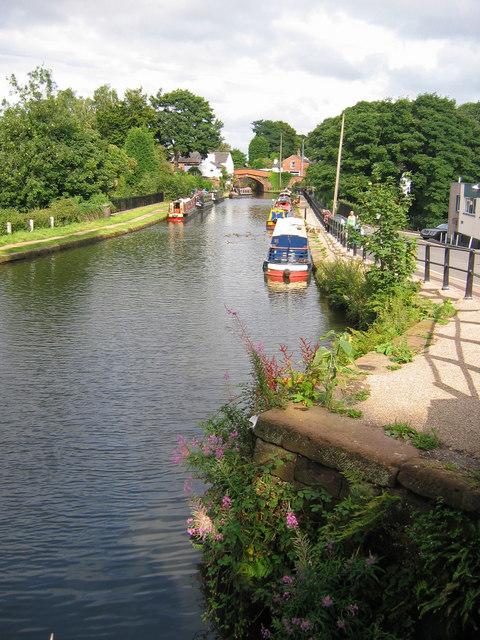 Bridgewater Canal, Lymm