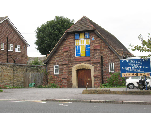 St George's church, Central Road, Morden