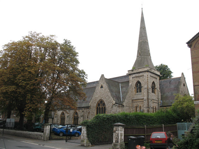 Former St Jude's church, Dulwich Road, Brockwell