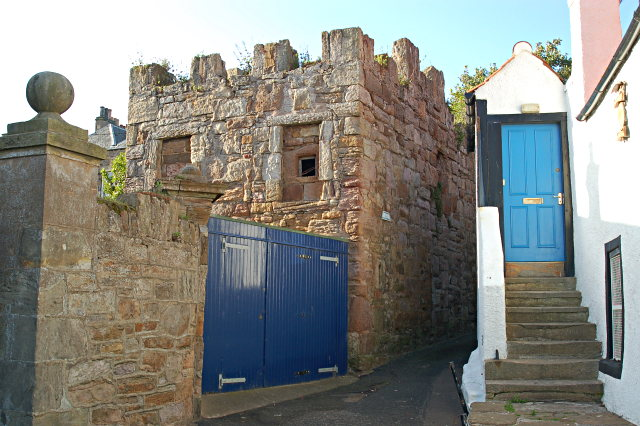 Dreel Castle, Anstruther