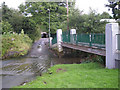 SP0178 : The Ford near the railway by Row17