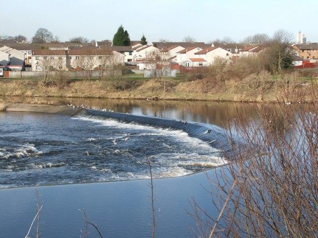 Weir at Carmyle