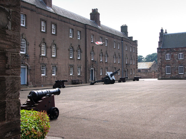 East barrack, Berwick Barracks