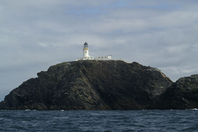 Muckle Flugga from the seaward side