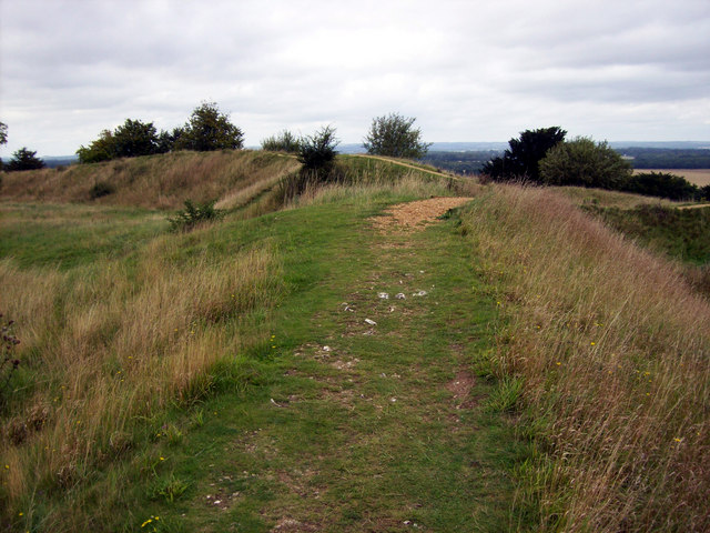 Danebury Ring - Raised Inner Walkway