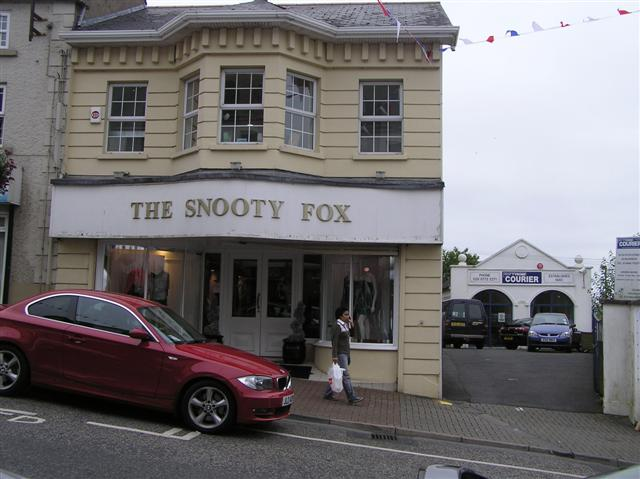 The SNOOTY FOX, Dungannon:: OS grid H7962 :: Geograph Ireland ...