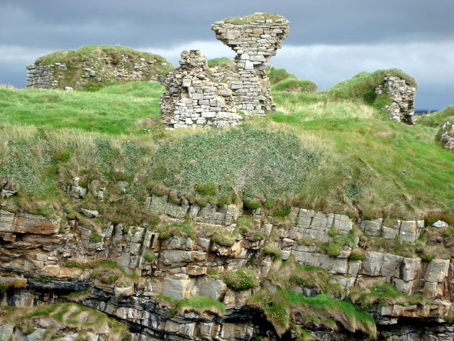 Remains of Kilbarron Castle