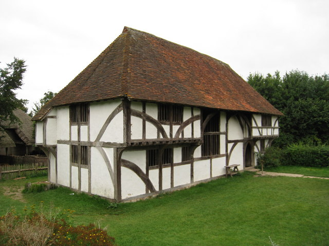 'Bayleaf' Wealden Hall House at Weald & Downland Museum, Singleton, West Sussex
