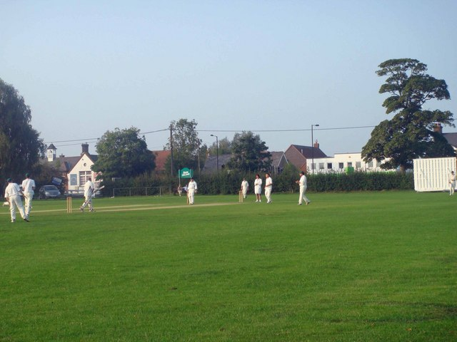 Cricket Match at Dawson's Playing Fields