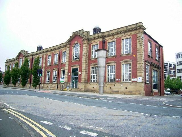 Wakefield Technical College, Burton Street