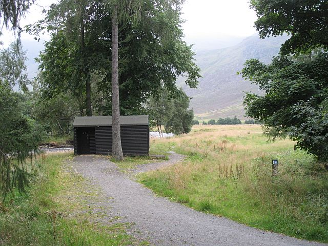 Lost campsite of Glen Doll - an important stance in many long trips