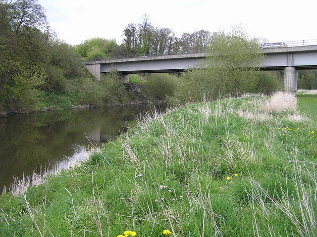 River Severn, Montford Road bypass bridge