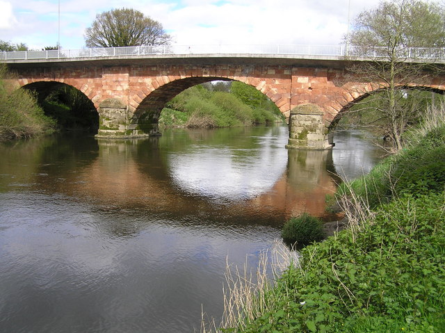 River Severn, Montford Road  bridge