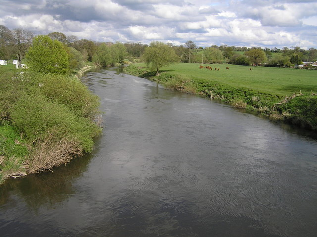 River Severn view, Montford Bridge