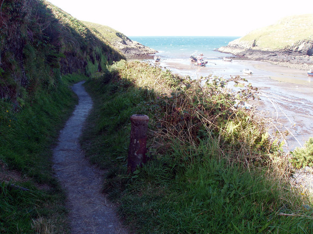 Old Cannon on Coastal Path