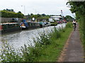 ST8660 : Kennet and Avon canal near Trowbridge by Rob Purvis