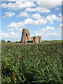 TG3815 : St Benet's Abbey - the gatehouse by Evelyn Simak