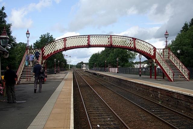Appleby Station, Footbridge